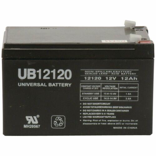 UB12120 F2 D5775 E5005 12V 12 Volt 12AH SLA Sealed Lead Acid
