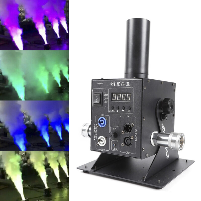 Digital display Single Pipe Led Co2 Jet Machine for disco dj stage party show