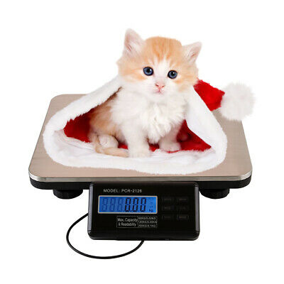660lbs300kg Digital Platform Scale Postal Shop Scale Pet Weight Scale Used