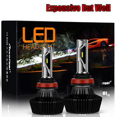 H7 LED Headlight Bulbs Kit High Low Beam 85W 20000LM Super Bright 6000K (Best Luxury Suv 2019)