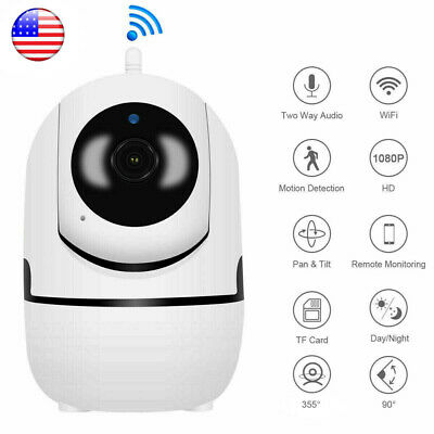 1080P HD IP Camera Wi-Fi IR Night Smart Home Wireless Security Baby Monitor CCTV
