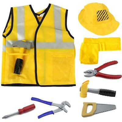 Construction Worker Costume For Kids (iPlay, iLearn Construction Worker Costume Kit For Kids)