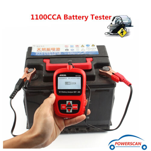 Vehicle Battery Tester : Ancel bst v load battery tester auto vehicle