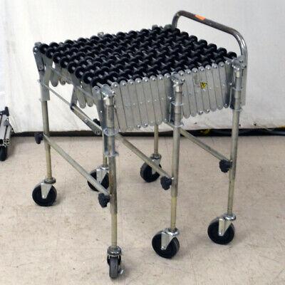 Nestaflex 175 Gravity Skate Wheel Flexible Roller Conveyor 24w X 85l