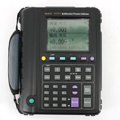 Ms7224 Multifunction Process Calibrator Rtdthermocouple Process Calibrator