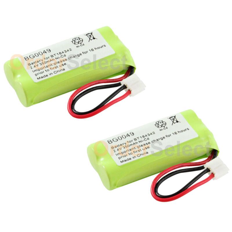 2x Home Phone Battery for AT&T Lucent BT18433 BT184342 BT28433 BT284342 100+SOLD