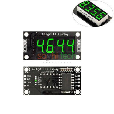 4 Digital Tube Led 0.36 7-segment Tm1637 Green Display Module For Arduino