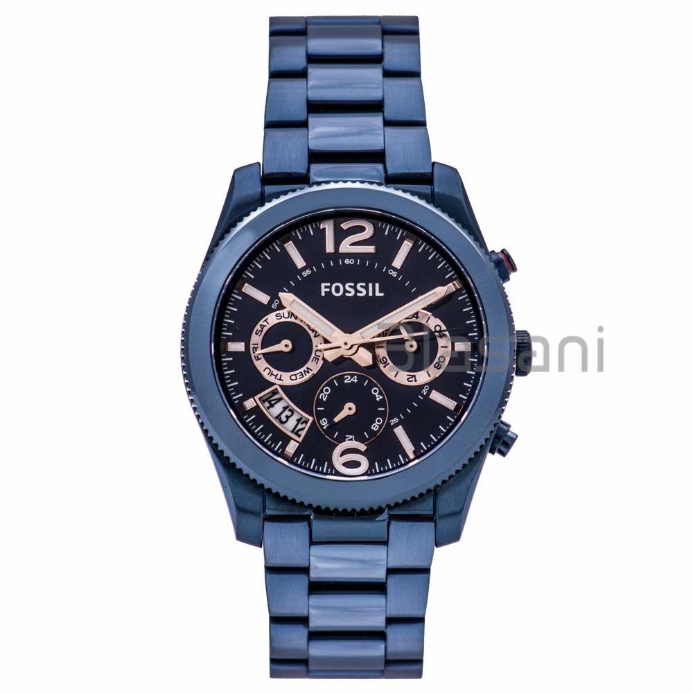 Fossil® Women's Perfect Boyfriend Watch With Link Bracel