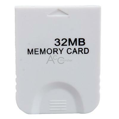 32MB Memory Card Storage for Nintendo GameCube Game Wii System