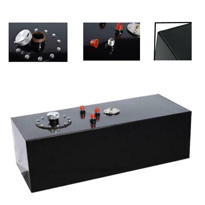 15 Gallon Top-feed Race Drift Aluminum Fuel Cell Tank with Level Sender