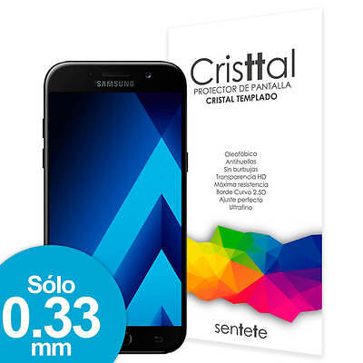 Sentete® Samsung Galaxy A5 (2017) Protector de Pantalla Cristal Templado PREMIUM