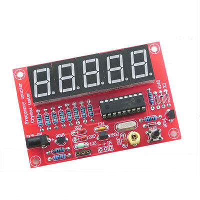 1hz-50mhz Crystal Oscillator Frequency Counter Meter Kits Digital Led Diy Ass