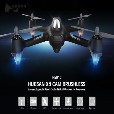 Hubsan X4 H501C RC Quadcopter Drone 1080P CAM Follow Me GPS Brushless RTH RTF US