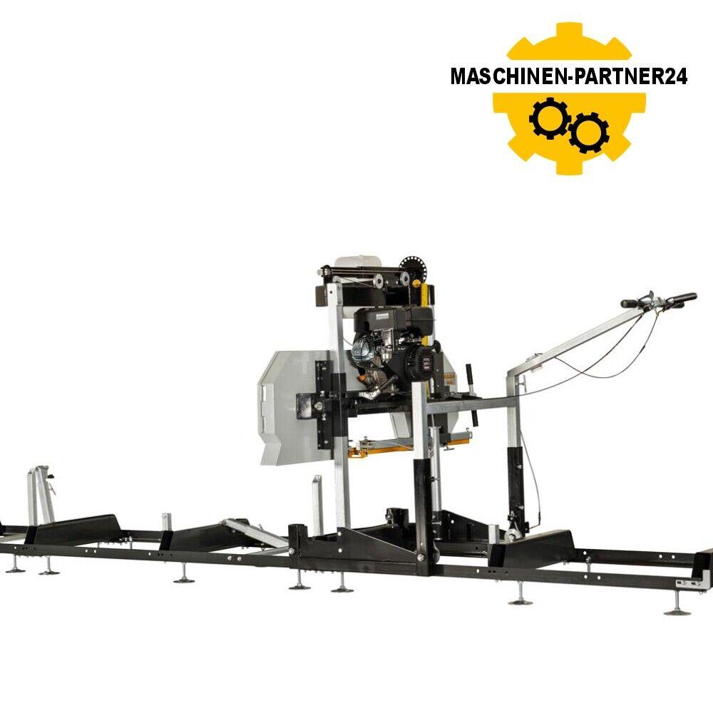 Lumag Benzin Blockbandsägewerk BSW66GL Kleinsägewerk  Bandsäge 6,8kW Motor