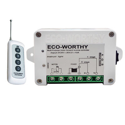 Dc12v24v Wireless Positive Inversion Remote Control Kit For Linear Actuator