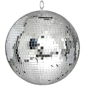 300mm DJ Disco Party Rotating Mirror Ball Ceiling Glass Lights Stage Bar KTV 12