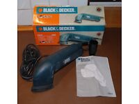 Black & Decker Detail Sander KA510, boxed with instructions, domestic use only