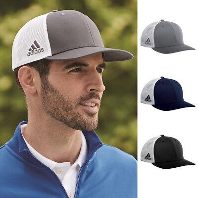 New! Genuine Adidas Mesh Colorblock Cap Trucker Hat Snapback Adjustable A627