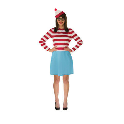 Womens Wenda Where's Waldo Halloween Costume (Halloween Costumes Waldo)