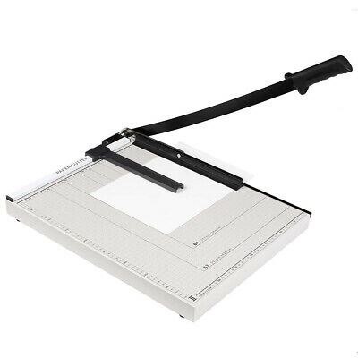 Paper Trimmer A4 To B7 Guillotine Paper Cutter 12 Cut Length 15 Sheet Capacity