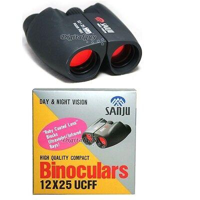 SeoulOptics Sanju UCFF 12x25mm Focus Free UV Binoculars Made in Korea