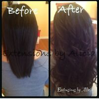 Microloop / Hot Fusion Hair Extensions