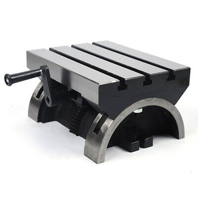 Swivel Angle Plate Tilting Table 12 Adjustable Heavy Duty For Milling Drilling