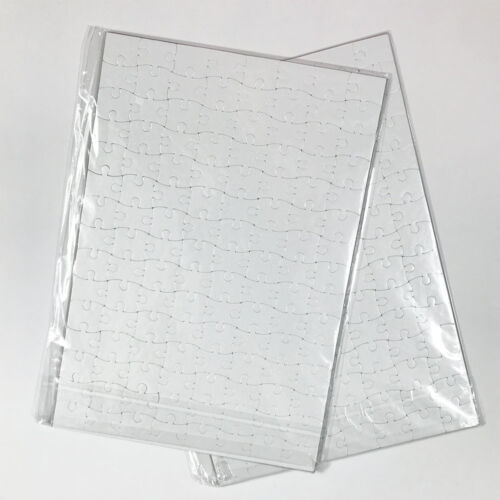 20Pcs A4 DIY Blank Sublimation Printable Jigsaw Puzzle For Heat Presses Transfer