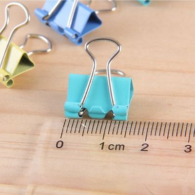 Portable 19mm Paper Holder Document Clips Binder Clips Office Stationery