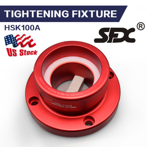 US Stock HSK100A/C Tightening Fixture Tool Lock Seat Fit HSK100A/C Tool Holder