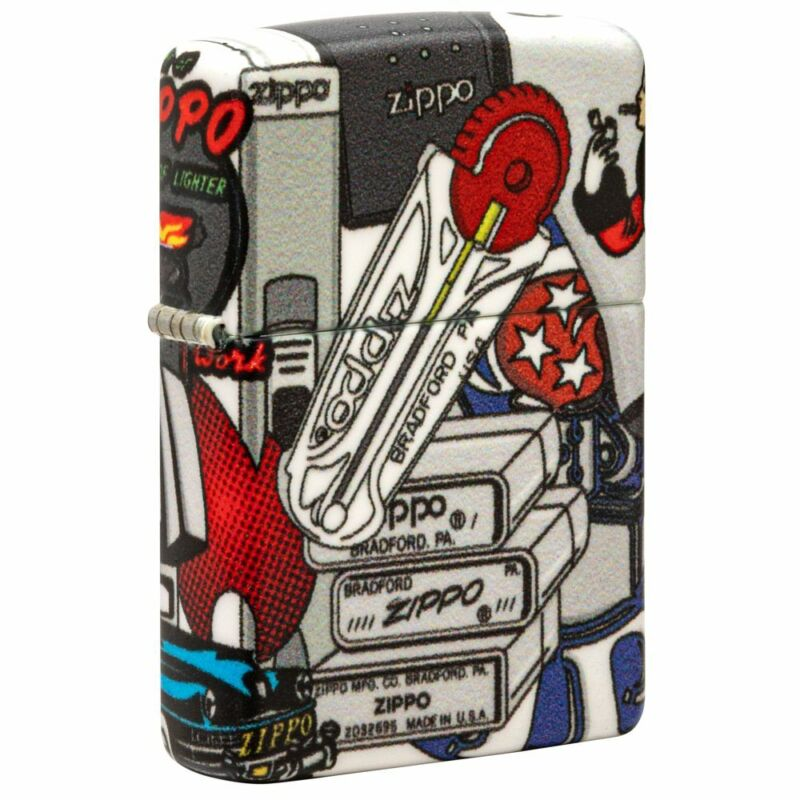 Zippo Zippo I Spy Windproof Pocket Lighter, 49352-084728