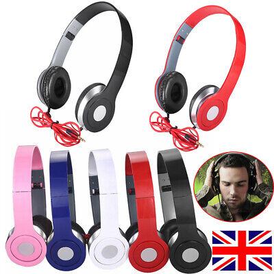 New Arrival Over-Ear DJ Headphones Wired Game Earphones For Teens Kids Childs UK