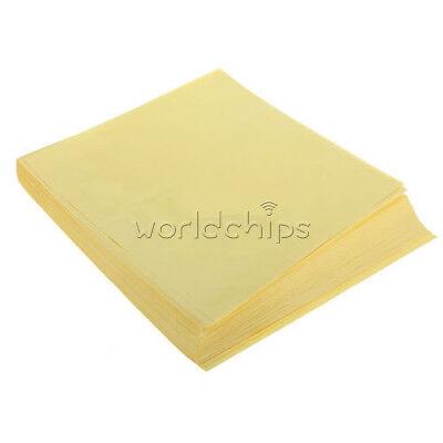 50pcs Heat Toner Transfer Paper A4 Sheets For Electronic Prototype Laser Printer