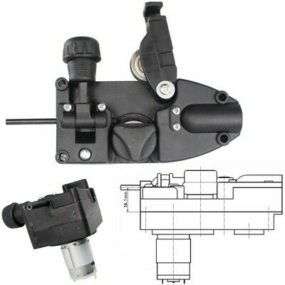 24v Dc 10w Wire Feed Assembly Motor Electric Mig Welder Feeder Black