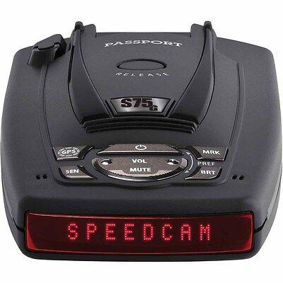Escort Passport S75 Radar Detector W/ Bsm Filter & Gps W/...