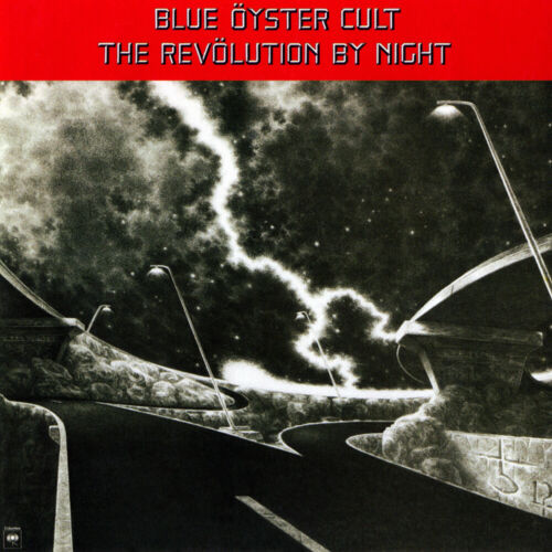 Blue Oyster Cult The Revolution By Night 12x12 Album Cover Replica Poster Print