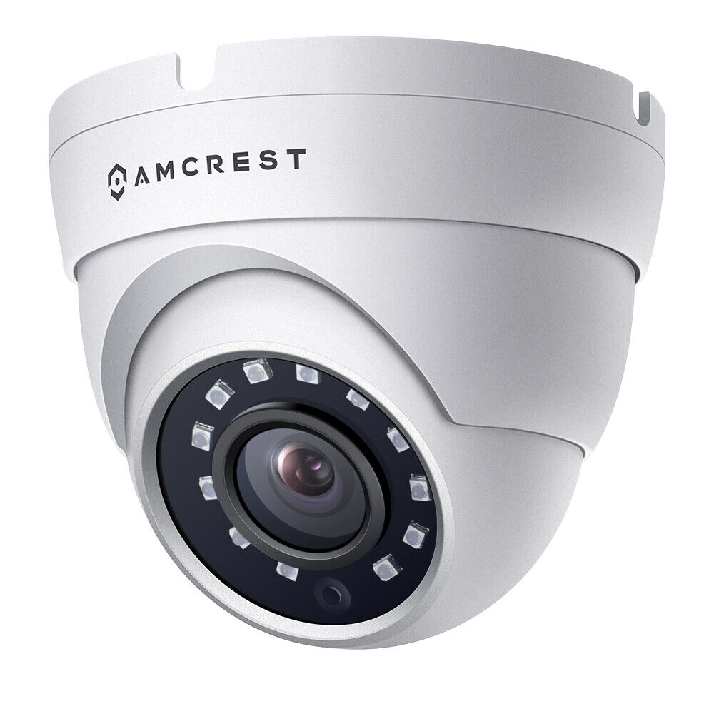 Amcrest 1080P 1280 TVL Dome Weatherproof IP66 Camera with 20