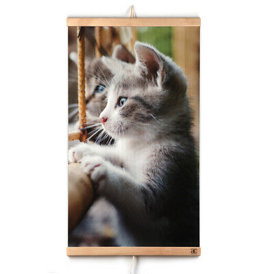 Far Infrared Wall Hung Heating Panel Cat Electric Film Heater 110V 470W for sale  Shipping to Canada