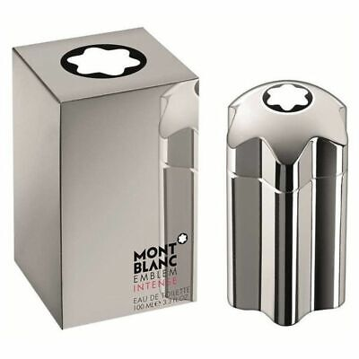EMBLEM INTENSE BY MONT BLANC 3.3 / 3.4 O.Z EDT SPRAY *MEN'S COLOGNE* NEW IN BOX