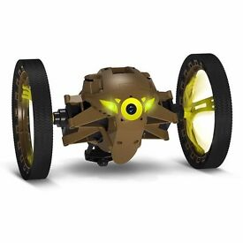 Parrot Jumping Sumo Wi-Fi Controlled Insectoid Robot drone with Camera (Khaki): Brand new in box