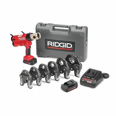 Ridgid 43358 Rp 340 Battery Press Tool Kit With Propress Jaws 12-2