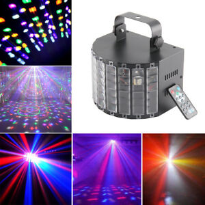 Sound Active DMX Stage Lighting LED Light Laser RGBW Effect Disco Club Bar Party