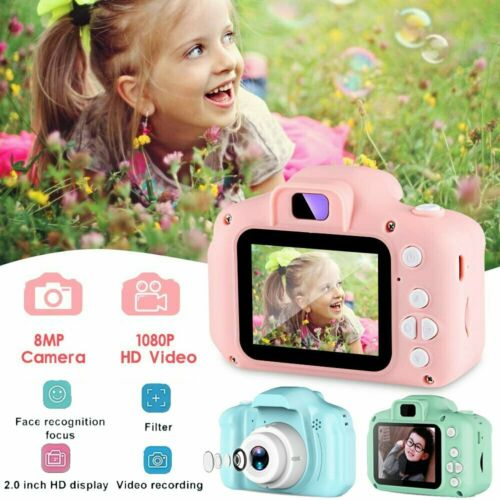 "2 "" Kinderkamera Digitalkamera HD 1080p Video Kamera für Kinder 8.0 MP Geschenke"