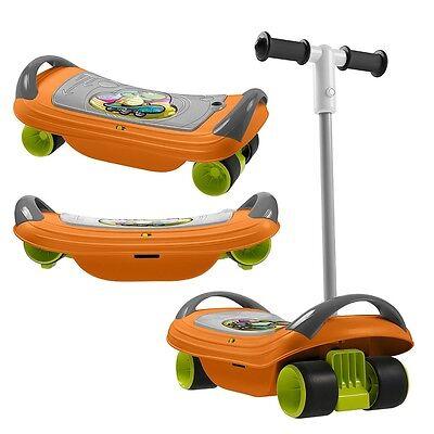 Chicco Fit N Fun Balance Skate, Kids 3 in 1 Scooter, Balance & Skate Board
