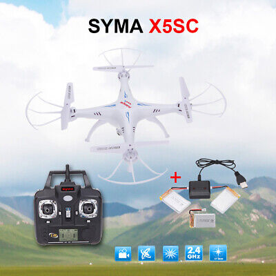 SYMA X5SC 2.4G 4CH 6-Axis Gyro RC Quadcopter RTF Drone with HD 2.0MP Camera Q4M6
