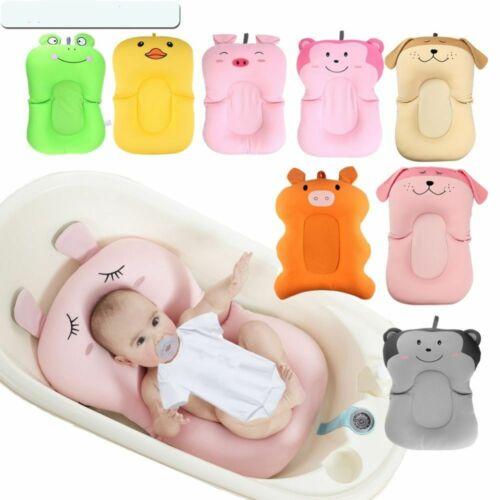 Baby Shower Portable Air Cushion Bed Babies Bath Pad Non-Slip Bathtub Mat Safety