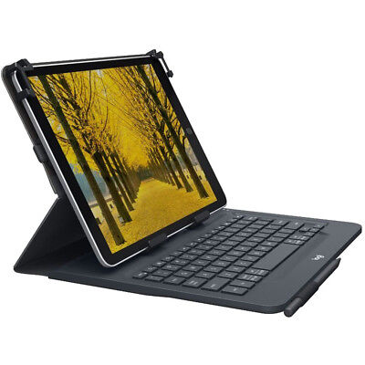 Logitech Universal Folio with Bluetooth keyboard for 9-10 inch Tablets