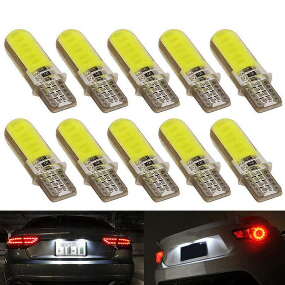 10x T10 CANBUS CREE LED 10 SMD 501 W5W BRIGHT WEDGE LIGHT WHITE XENON BULBS