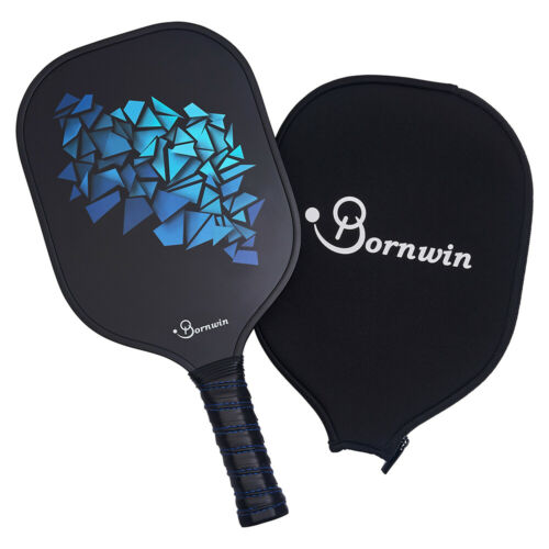 Pickleball Paddle with Cover-Graphite Face Polymer Core-Lightweight Racket Set