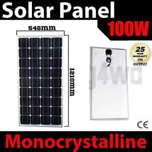 100w solar Panel caravan power battery charger 12v mono generato Wangara Wanneroo Area Preview